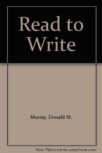 9780030697760: Read to Write