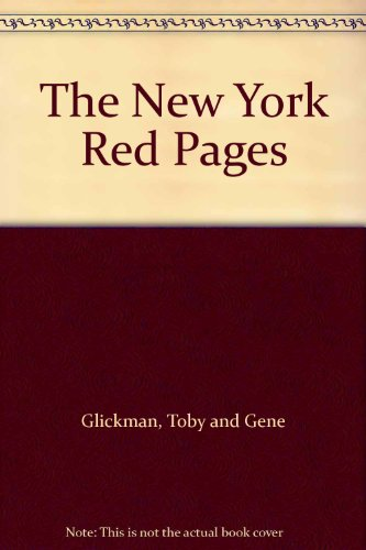 9780030697845: The New York Red Pages