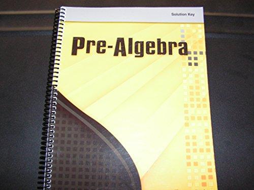 9780030698064: Holt Pre-Algebra: Solutions Keys