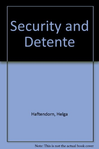 9780030698866: Security and Detente