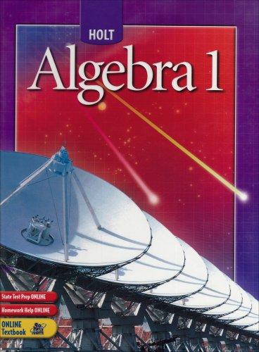 9780030700392: Holt Algebra 1: Student Edition