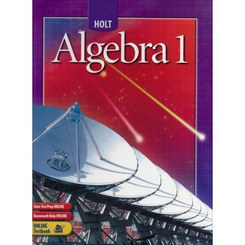 9780030700439: Holt Algebra 1 Florida Teacher's Edition