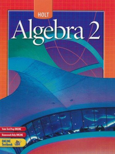 9780030700446: Holt Algebra 2 (Holt Mathematics)