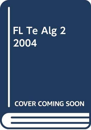 9780030700477: FL Te Alg 2 2004