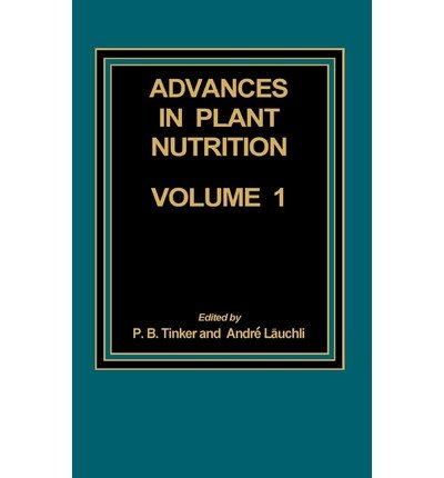 9780030700873: Advances in Plant Nutrition: v. 1