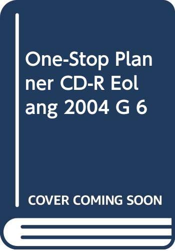 9780030702372: One-Stop Planner CD-R Eolang 2004 G 6