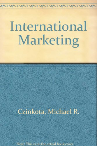 9780030702976: International Marketing