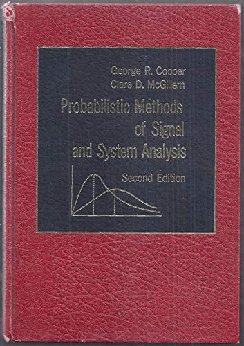 9780030706141: Probabilistic Methods of Signal and System Analysis (The Oxford Series in Electrical and Computer Engineering)