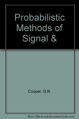 9780030706165: Probabilistic Methods of Signal &