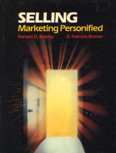 9780030706288: Selling: Marketing Personified