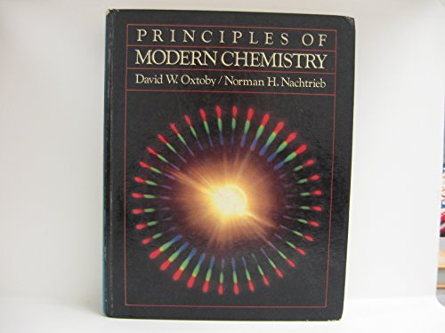 9780030706530: Principles of Modern Chemistry (Saunders Golden Sunburst Series)