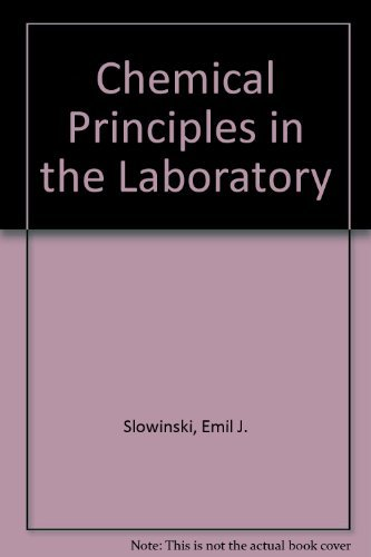 9780030707544: Chemical Principles in the Laboratory