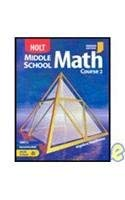 9780030710070: Holt Mathematics Indiana: Student Edition Course 2 2004