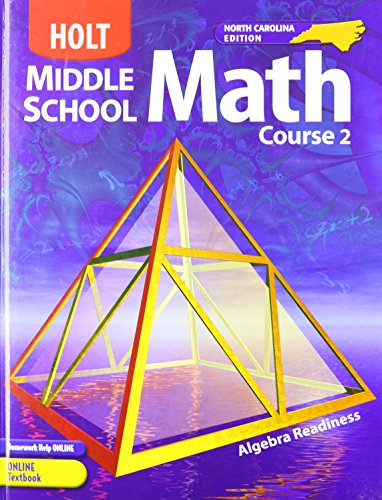 9780030710094: Holt Middle School Math, Course 2