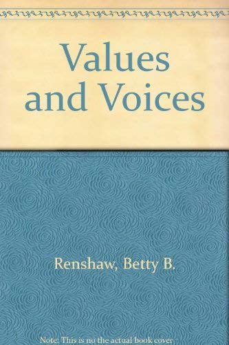 9780030710391: Values and Voices: A College Reader