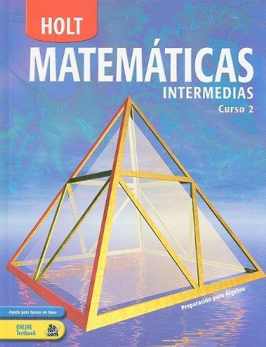9780030710988: Holt Matematicas Intermedias, Curso 2