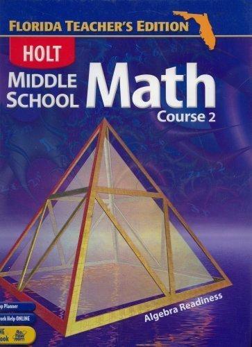 9780030711268: Middle School Math Course 2 Florida Teacher's Edition