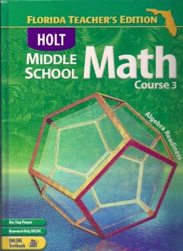 9780030711473: FL Te W/FL Te CD-R MS Math 2004 Crs 3