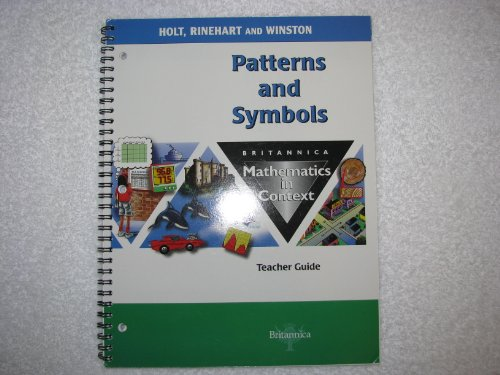 9780030712845: Tg Pattern/Symbols Math/Context 2003 G 5
