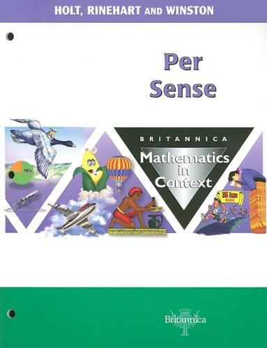 9780030712869: Britannica Mathematics in Context: Per Sense