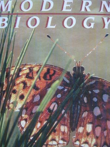9780030712920: Modern Biology