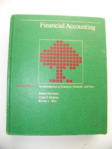 9780030713187: Financial Accounting: An Introduction to Concepts, Methods and Uses (The Dryden Press series in accounting)