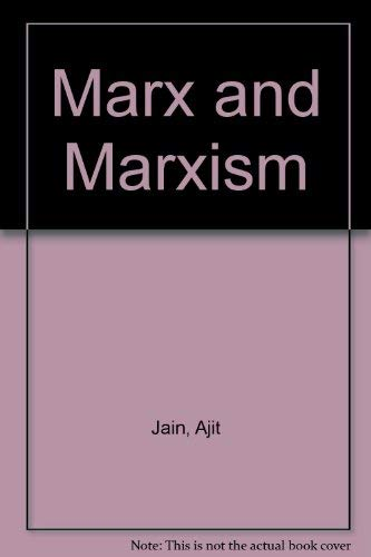 Marx and Marxism: Praeger Pub