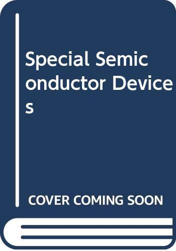 9780030713804: Special Semiconductor Devices