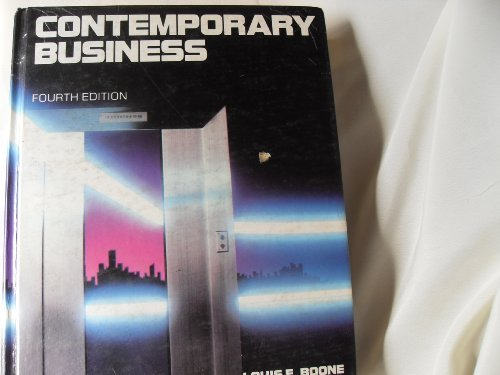 9780030714139: Contemporary Business