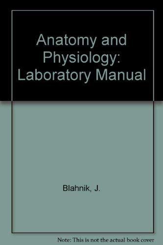 9780030716089: Anatomy and Physiology: Laboratory Manual
