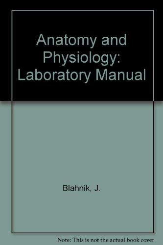 9780030716089: Anatomy and Physiology: Laboratory Manual