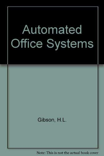 9780030716393: Automated Office Systems