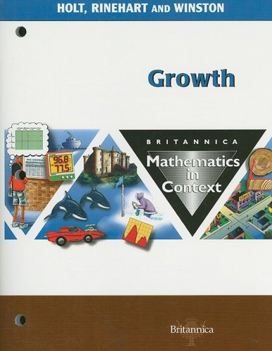 9780030716676: Britannica Mathematics in Context: Growth