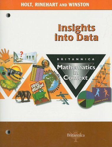 9780030716997: Britannica Mathematics in Context: Insights Into Data