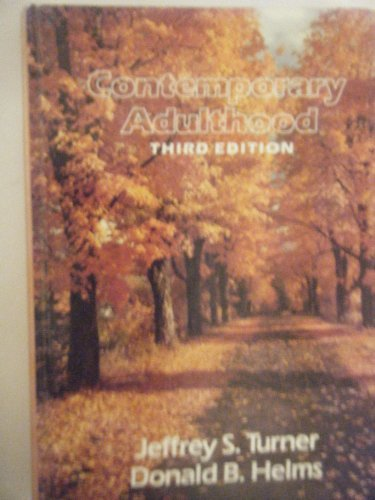 9780030717437: Contemporary adulthood