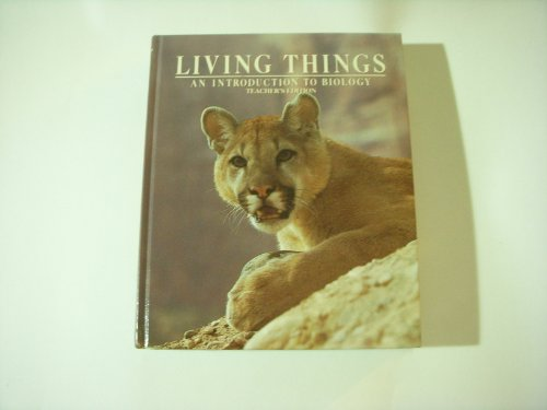 9780030719110: Living Things, 1985