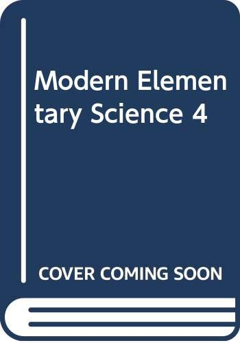 Modern Elementary Science Gr 4