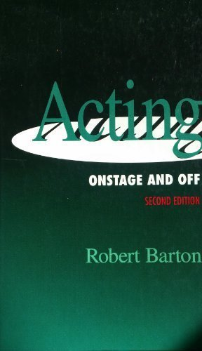 9780030721922: Acting: Onstage and Off