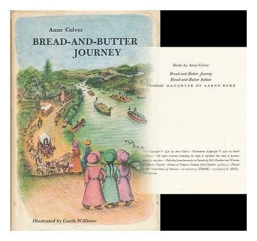 9780030722202: Bread-and-butter journey,