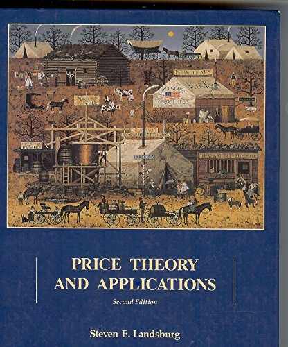 9780030722523: Price Theory and Applications