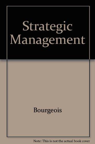 9780030722547: Strategic Management