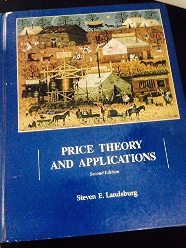 9780030723032: Price Theory Applications