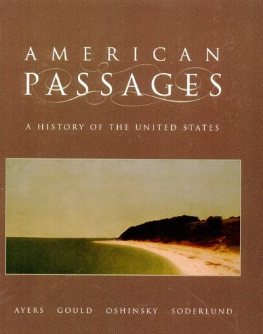 9780030724794: American Passages: A History of the American People