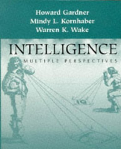 9780030726293: Intelligence: Multiple Perspectives