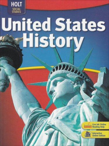 9780030726873: Holt Social Studies: United States History: Student Edition Full Survey 2007
