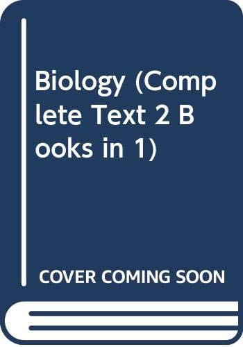 9780030727962: Biology (Complete Text 2 Books in 1)