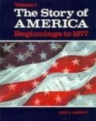 9780030728969: Story of America Beginnings to 1877
