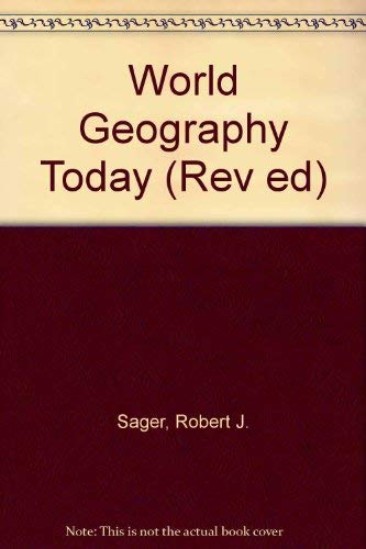 9780030729034: World Geography Today (Rev Ed)