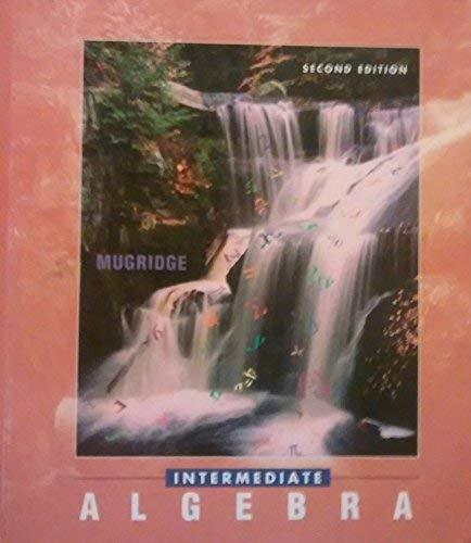 9780030729430: Intermediate Algebra