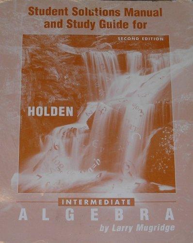 9780030729515: Intermediate Algebra